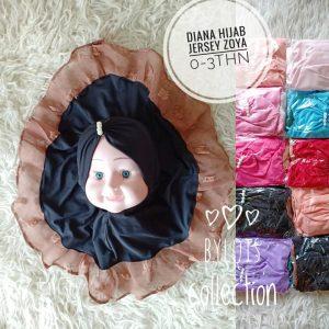 Grosir Jilbab Anak Diana Hijab kerudung bayi