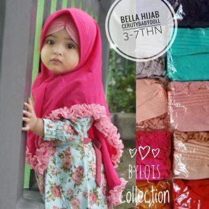 Grosir jilbab anak azka bella hijab