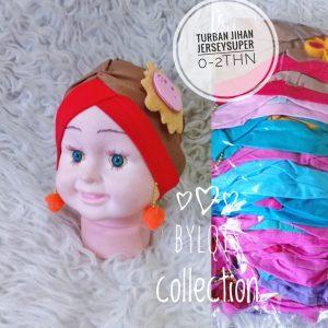 Grosir jilbab anak turban jihan