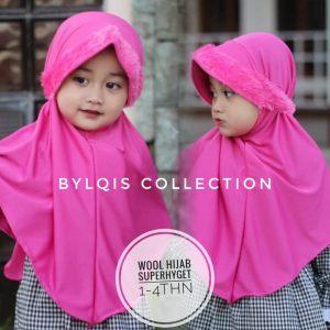 Grosir jilbab anak wool hijab