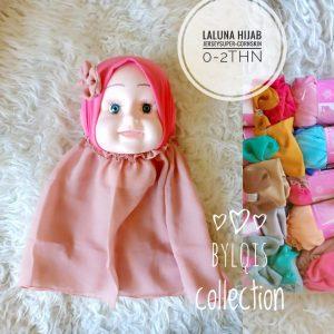 Grosir jilbab anak Laluna hijab