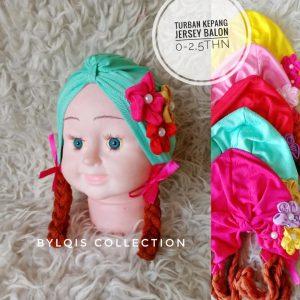 Grosir turban anak kepang