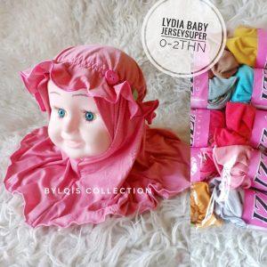 Grosir jilbab anak lydia baby