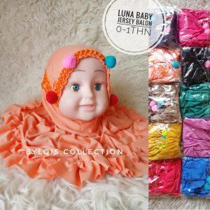 Grosir jilbab anak luna baby