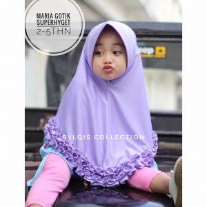 Grosir jilbab anak Maria gotik
