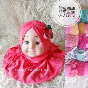 Grosir jilbab anak reva hijab