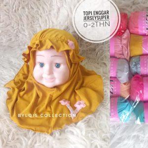 Grosir jilbab anak topi enggar
