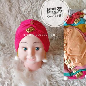 Grosir turban anak cute