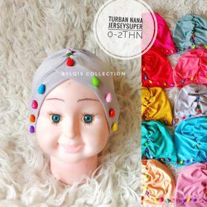 Grosir turban anak nana
