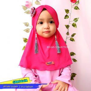 Grosir jilbab anak Gardenia tussel
