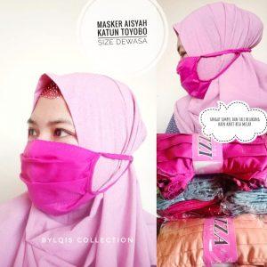 Masker hijab aisyah