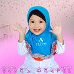 Grosir jilbab anak dobel rempel