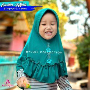 Grosir jilbab anak emilia