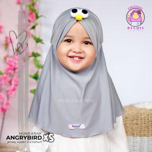 Grosir jilbab anak angrybird size XS