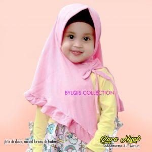 Grosir jilbab anak clara