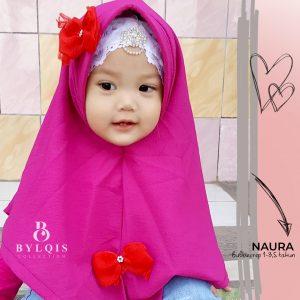 Grosir jilbab anak naura