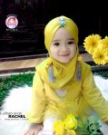 Grosir jilbab anak rachel