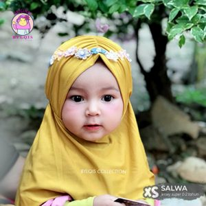 Grosir jilbab anak Salwa