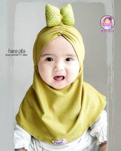 Grosir jilbab anak hana pita