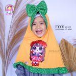 Grosir jilbab anak Minnie LOL LED