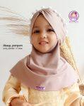 Grosir jilbab anak aleeya pompom