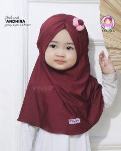 Grosir jilbab anak andhira