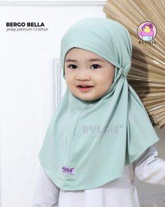 Grosir jilbab anak bergo bella