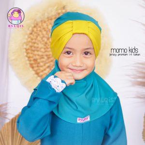 Grosir jilbab anak momo kids