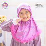 Grosir jilbab anak yumna tile