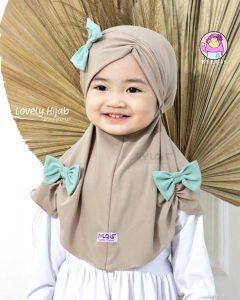 Grosir jilbab anak lovely