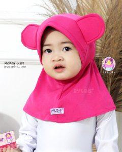 Grosir jilbab anak mickey cute