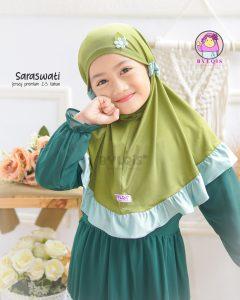Grosir jilbab anak saraswati