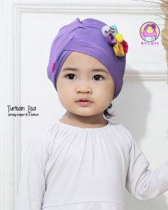 Grosir turban anak lisa